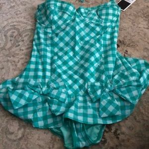 Juicy Couture Swim - Juicy Couture full piece bathing suit size XS
